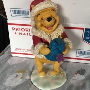 Winnie The Pooh Christmas Statue